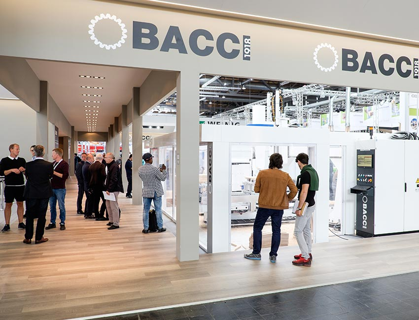 BACCI | company stand ligna fair | Hannover | May 2017