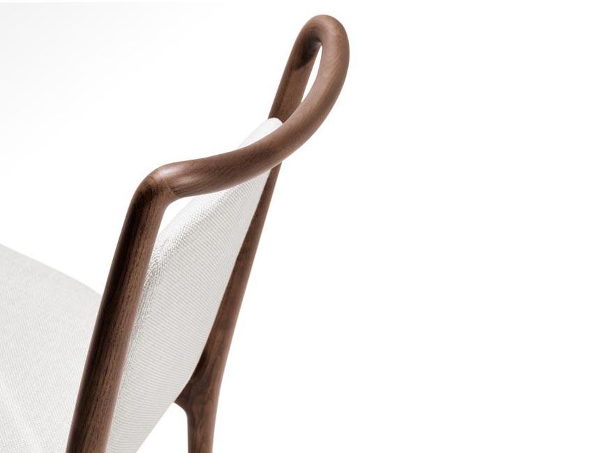 IBLA chair   Milano furniture fair   design Roberto Lazzeroni for Giorgetti 2016
