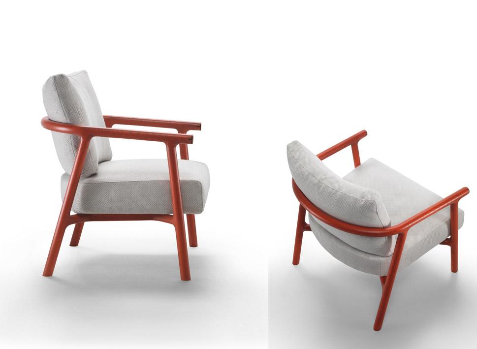 FLEXFORM MOOD collections | Milano furniture fair | Icaro armchair 2017