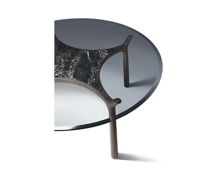 MEMOS table | Milano furniture fair | design Roberto Lazzeroni for Giorgetti 2016