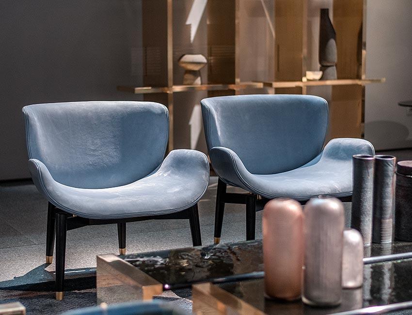 New seats 2018 | Jorgen armchair | Baxter