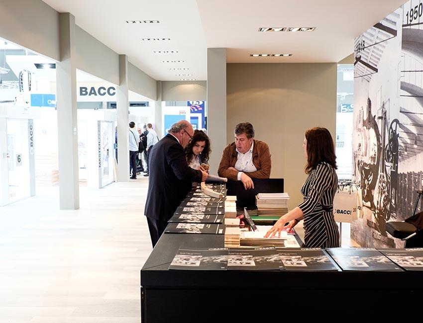 BACCI | company stand ligna fair | Hannover | May 2017